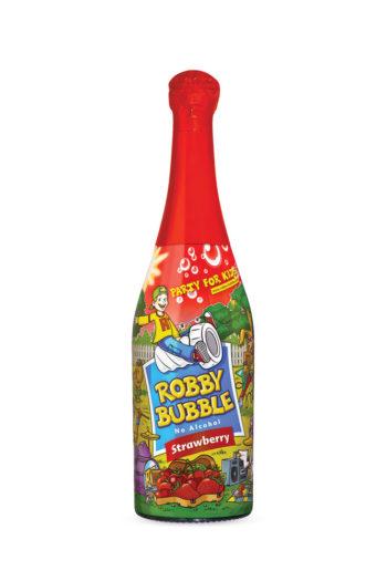 Παιδική Σαμπάνια Φράουλα Robby Bubble 750ml | planv.gr