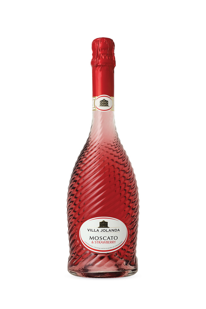Moscato Asti & Strawberry Villa Jolanda 750ml | planv.gr