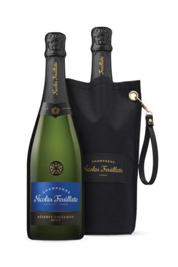 Champagne Brut w/ ice bucket Nicolas Feuillatte 750ml | planv.gr