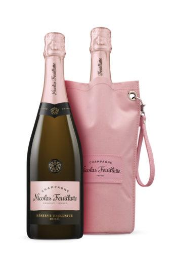 Champagne Rosé w/ ice bucket Nicolas Feuillatte 750ml | planv.gr