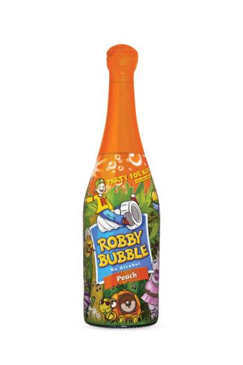 Παιδική Σαμπάνια Ροδάκινο Robby Bubble 750ml | planv.gr