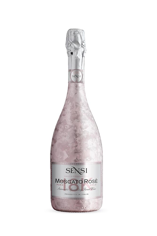 Moscato Rosé 18K Sensi Pink 750ml | planv.gr