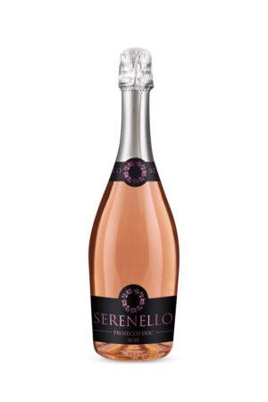 Prosecco Rosé Extra Dry Serenello 750ml | planv.gr