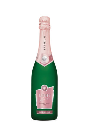 Merlot Rose Spumante 0% Alcohol Light Live 750ml | planv.gr