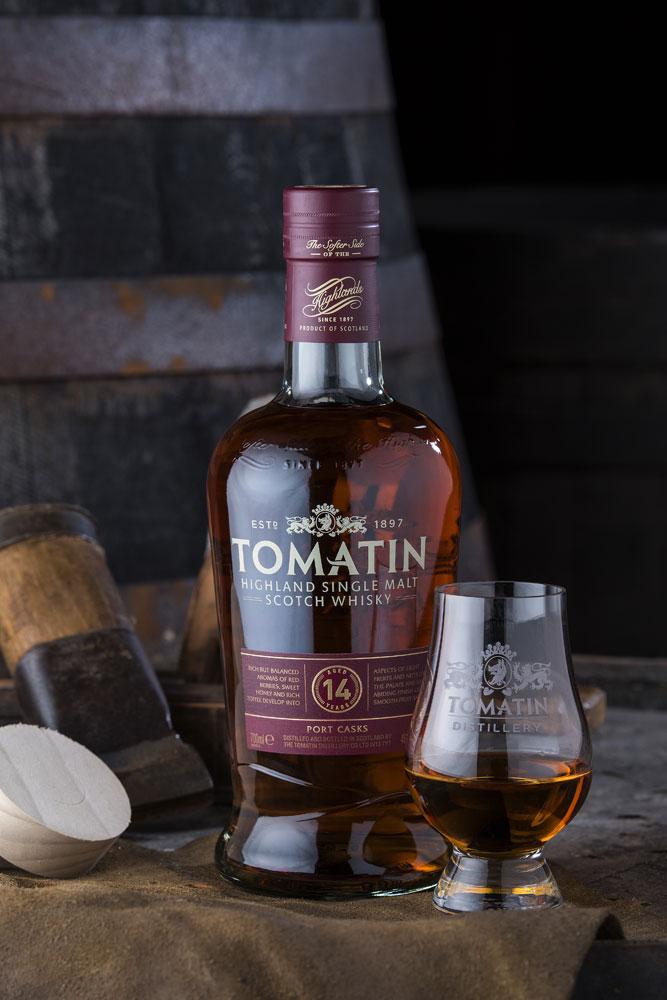 14 Years Tomatin Single Malt Whisky 700ml pres