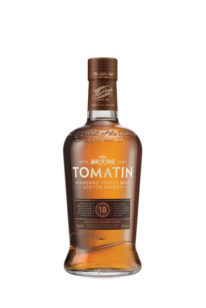 18 Years Tomatin Single Malt Whisky 700ml | Plan-V