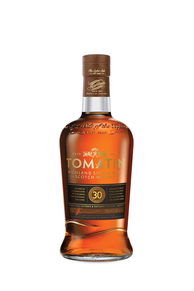 30 Years Tomatin Single Malt Whisky 700ml | Plan-V