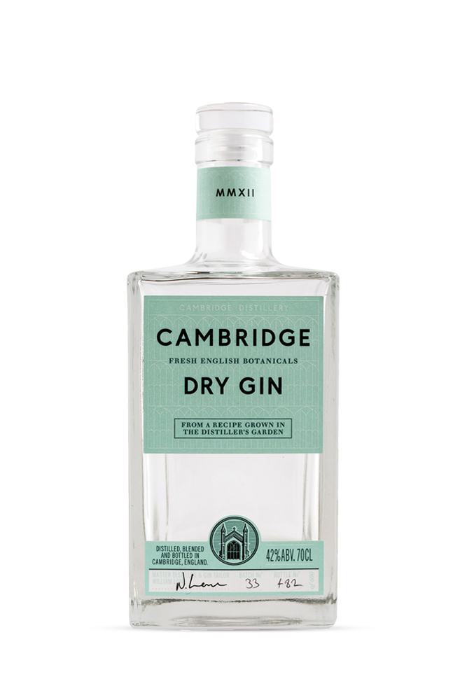 Dry Gin by the Cambridge Distillery 700ml | Plan-V