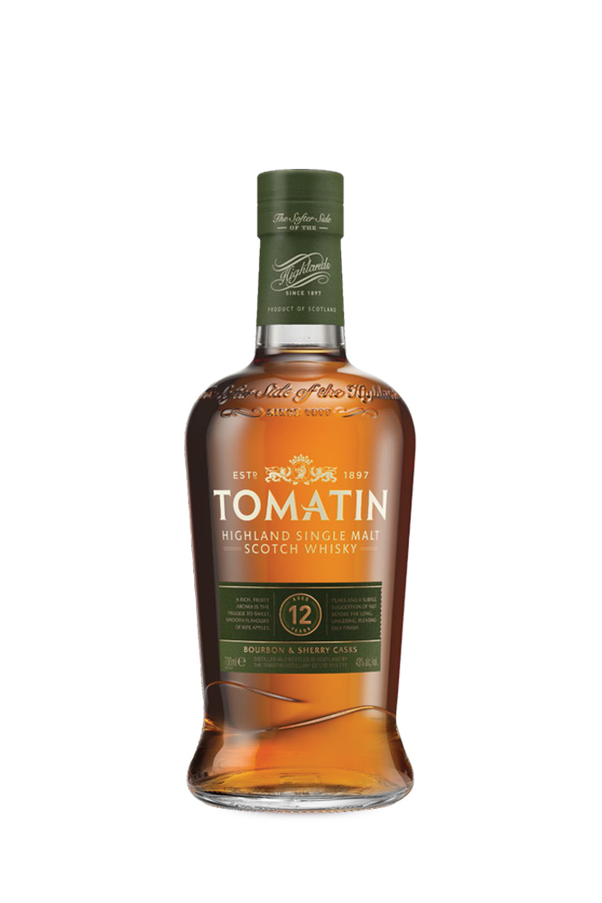 12 Years Tomatin Single Malt Whisky 700ml | Plan-V