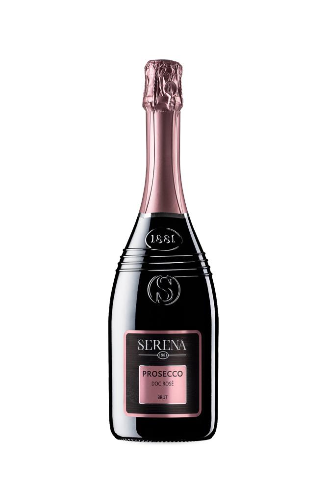 Prosecco Rosé Brut Serena 750ml | planv.gr